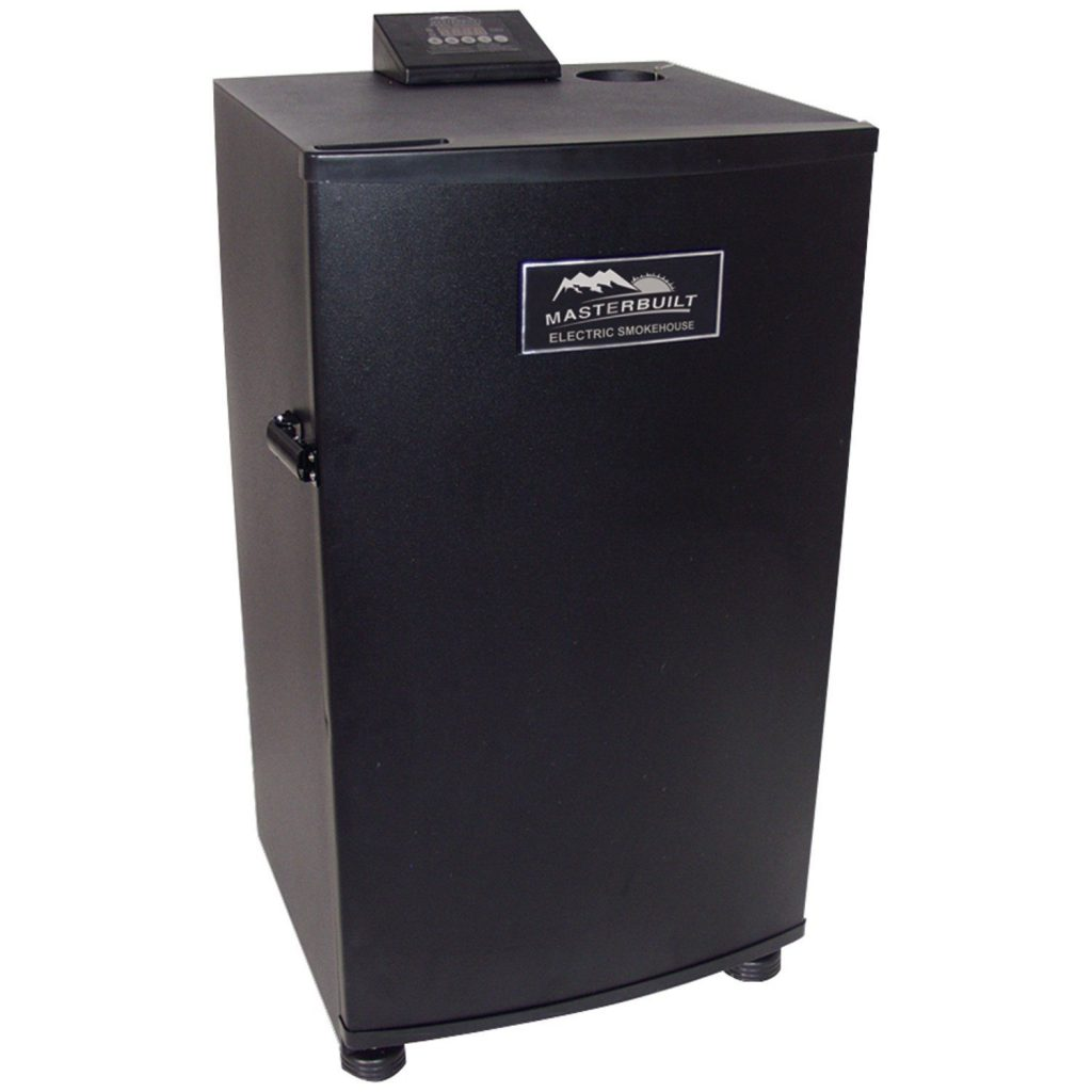 Masterbuilt 20070910 30-Inch Black Electric Digital Smoker, Top Controller.jpg