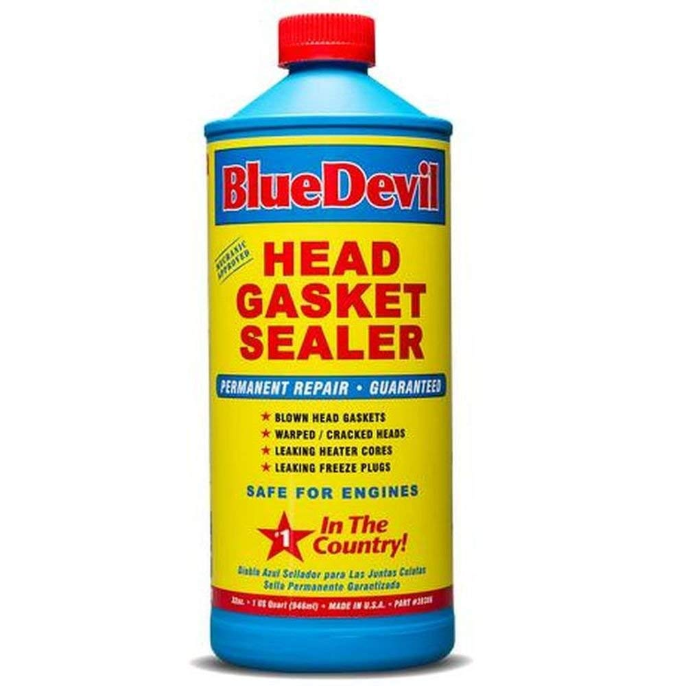 BlueDevil Pour-N-Go Head Gasket Sealer - 16 Ounce (00209)