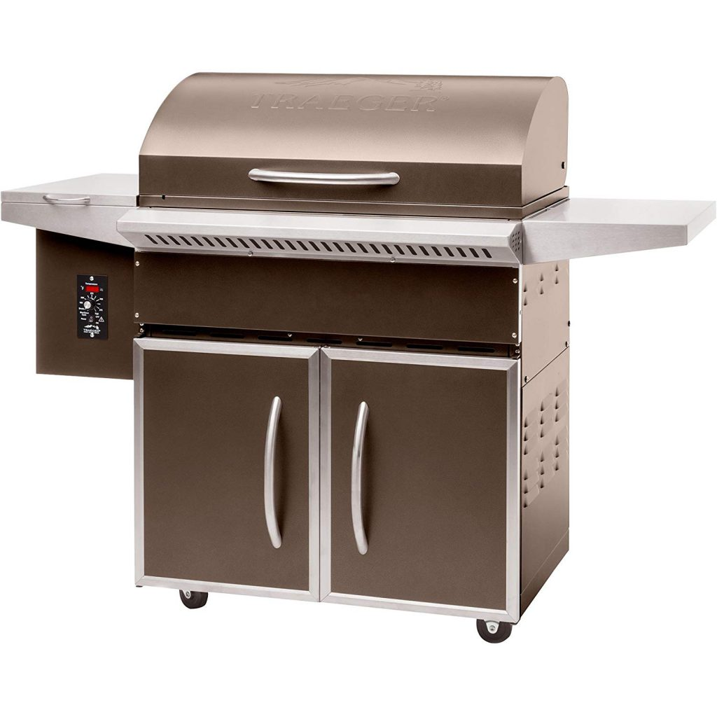 Traeger Select Elite Wood Pellet Grill and Smoker: Durable & Efficient